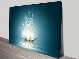 Canvas Art Flower Moonlight Wall Canvas Art