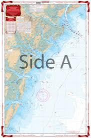 Coastal Georgia St Marys To Savannah River Navigation Chart 92