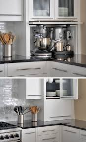 kitchen design idea your kitchen appliances in a dedicated appliance garage this