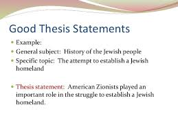 Thesis Statement Examples Informative Essay How To Write An