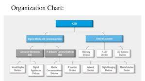 Samsung Electronics Organization Management
