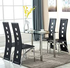dining room chairs set of 4 beautiful black dining room chairs set of 4 ideas dining