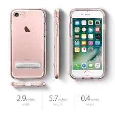 iphone 8 gold. spigen crytal hybrid case for iphone 8, 7 (rose gold - clear) iphone 8