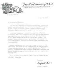 Sample Letter Of Recommendation For A Teacher Position Letter Of Recommendation From Principal Sample Educational