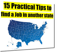 Tips To Find A Job 15 Practical Tips To Find A Job In Another State Careercloud
