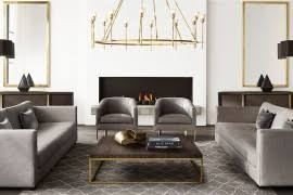 new brass furniture and decor from rh modern brass furniture