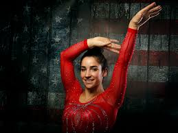 aly raisman captured two gold medals and a bronze in gymnastics at the 2016 summer olympic games in london but it was her pas hilariously awkward