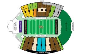 football seating map football pricing chart