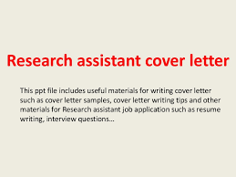 researchassistantcoverletter 140223235430 phpapp02 thumbnail 4jpgcb1393199701 sample research assistant cover letter