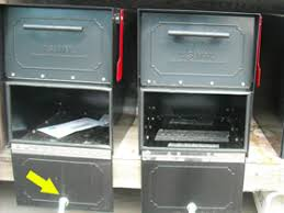 open residential mailboxes. Jefferson Co Mailboxes Pried Open Open Residential Mailboxes M