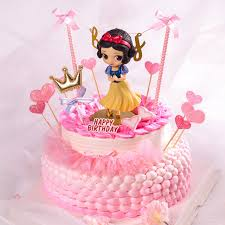 Princess Snow White Doll Cupcake Toppers Cake Decorating Supplies