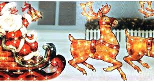outdoor sleigh decoration gh and reindeer outdoor decoration lighted his lawn decorations plastic gh outdoor decoration
