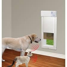 power pet door wall and door mount