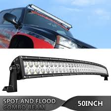 99 Tahoe Light Bar Details About 50in Curved Led Light Bar Combo Offroad For 99 06 Chevy Silverado Tahoe Sierra