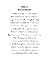 sonnet by paigederrick teaching resources tes
