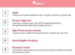 hero registered contractors login