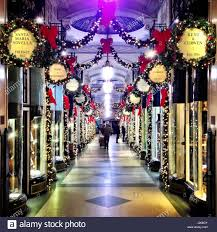 Burlington Christmas Lights 2018 Burlington Arcade At Christmas London England Uk Stock