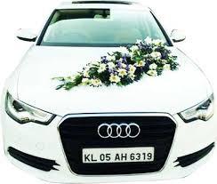 Wedding Car Decorations Accessories Venu's Wedding Car Decorations Kerala India 20