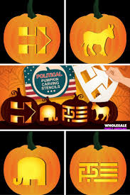 Political Pumpkin Carving Stencils