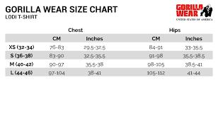 Pink Size Chart Lodi T Shirt Light Pink Xs