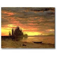 sunset canvas wall art trdemrk rt cliforni cnvs wll rt lbert biersdnt parvez taj sunset canvas sunset canvas wall art  on parvez taj beach life canvas wall art with sunset canvas wall art ations patg parvez taj sunset canvas wall art