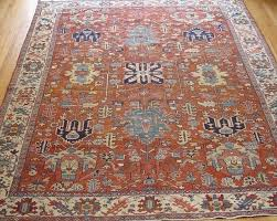 details about 8 2 x 11 4 magnificent antique heriz serapi hand made 100 wool oriental rug