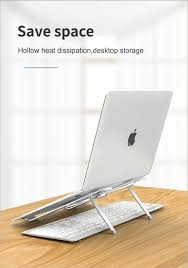 Portable Aluminum Alloy <b>Laptop Stand</b> Heat Dissipation <b>Desktop</b> ...