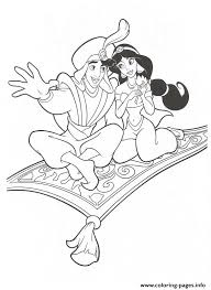 Aladdin Showing Jasmine The World Disney Princess Coloring Pages82e2