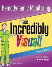 Hemodynamic Monitoring Made Incredibly Visual Lippincott Williams