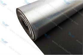 Heat Resistant Sound Insulation Foam Aluminum Foil Backed Eva Foam Thermal  Insulation Flooring Underlay Floor Heating