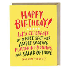 Birthday Cards Emily Mcdowell Studio