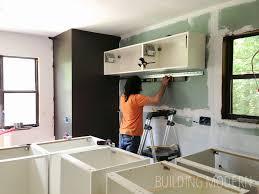 Ikea Kitchen Cabinet Installation DIY Kitchen Renovation Extraordinary Assembling Ikea Kitchen Cabinets
