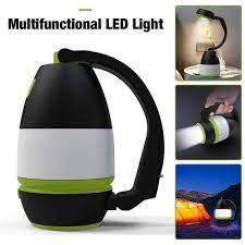 Đèn Pin tích điện đa năng 4 trong 1, Đèn học, đèn tích điện, kiêm sạc dự  phòng tiện lợi - Đèn pin