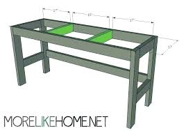 computer desk plans build a corner plan simple how to home farmhouse diy buil
