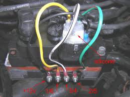 vwvortex com ford coil pack on vr6 pics even though it s and older version icm you can see where everything goes in this picture the plug is just different but again you can see all the colors