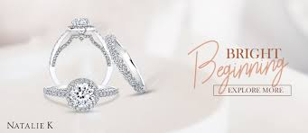 stunning diamond rings from natalie k at a t thomas jewelers