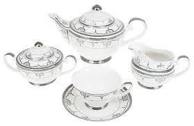 "<b>Чайный</b> сервиз <b>Best Home</b> Porcelain ""Rochelle"" 15 предметов ..."