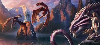 Dragón - Seres Mitológicos y Fantásticos