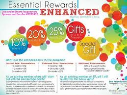 the new essential rewards program from young living eco friendly