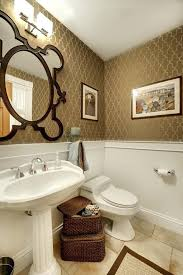 powder room pedestal sink bath bath powder room ideas with pedestal sink