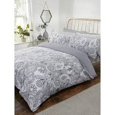 on image to enlarge description returns in metallic paisley king size duvet