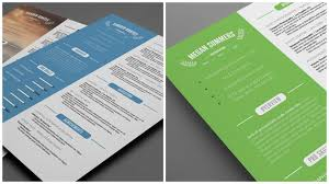 Gallery Of Resume Design Template Free Resume Template And Cover