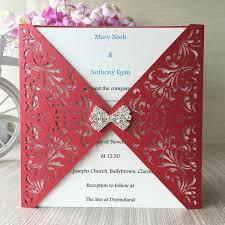 Hollow Out Wedding Invitations Cards Modern Style Envelope Apply To Fathers Day Gifts Cards Easter Festival Invitations Cards Simple Wedding