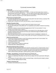 Sample Psychosocial Assessment 24 Psychosocial assessment example elemental myfirsttemplate 1