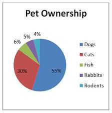 Preparation Material For Cat On Pie Chart In Data