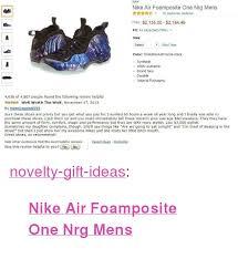Nike Nike Air Foamposite One Nrg Mens Kn16 Customer Reviews