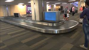 baggage claim airport. Delighful Claim Blue Conveyor Baggage Claims Tampa International Airport Tampa FL  YouTube On Claim