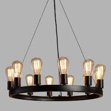 round 12 light edison bulb chandelier world market edison light bulb chandelier diy