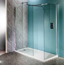 how to install glass shower wall panels