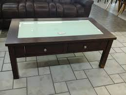 glass top coffee table with drawers attractive 30 best ideas of tables display drawer pertaining to 16